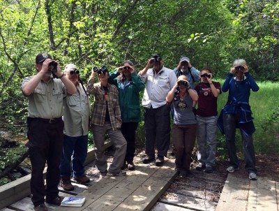 June 7, 2014 Birding on the Refuge with  Biologist Mike Munts