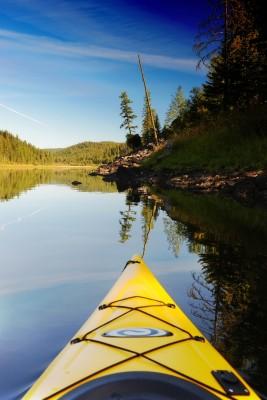 Kayak Respite at Bayley LakeJC copy